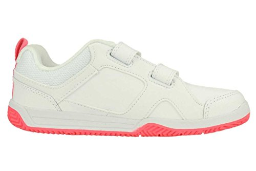 Nike - Nike Lykin 11 (TDV) Scarpe Bambina Bianche Pelle Strappi 454376 Blanc