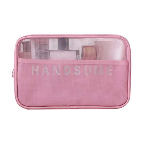 Grande capacité de voyage Trousse de Toilette maquillage organisateur multifonction trousse de toilette sac étanche portable pour les femmes,3