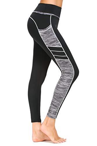 Munvot Tailored Geschenke Damen Sporthose Sport leggings Tights Yogahosen Trainingshose Jogginghose - C1173-0310/S (DE36-38)