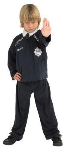 Jungen Polizist Polizistin Uniform Buch Tag Woche Gesetz Vollstreckung Hero Rettungsdienste Halloween Kostüm Kleid Outfit - (Kostüme Junge Polizistin)