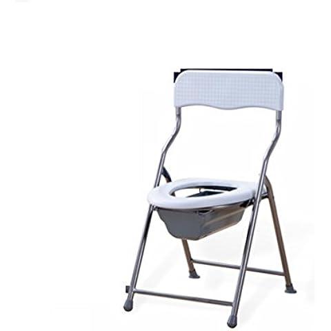 XL slittamento multifunzione acqua portatile pieghevole sedia armadio seggiolone posteriore toilette incinta Sedia WC