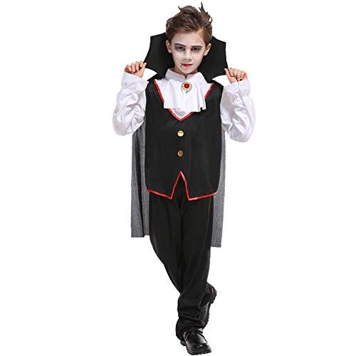Prinz Boy Kostüm Baby - Yqihy Halloween Kostüm Party Accessoire Boy's Devil Cosplay Umhang mit Hut Enthält Keine Requisiten