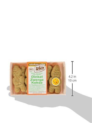 Werz Dinkel-Vollkorn-Zwerge-Kekse, 3er Pack (3 x 125 g Packung) - Bio - 5