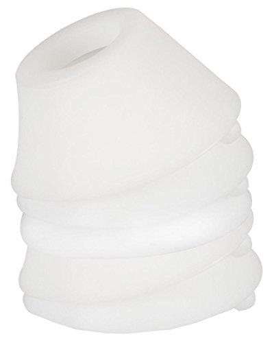 Womanizer Klitorisstimulator Pro Weiß - Set inkl. Toy-Reiniger, wasserbasiertem Gleitgel und Ersatzkappen (5 Stk.) - 3