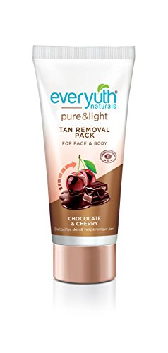 Everyuth Naturals Tan Removal Face Pack, Chocolate and Cherry, 50g