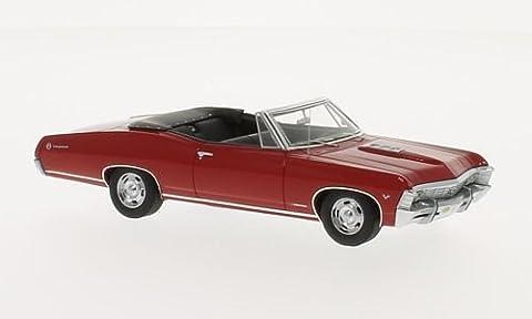 Chevrolet Impala SS Convertible, rouge , 1967, voiture miniature, Miniature déjà montée, TrueScale Miniatures 1:43