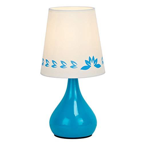 YZPTD Lámpara de sobremesa jarrón de cerámica de diseño simple LT2019-OFF, color azul