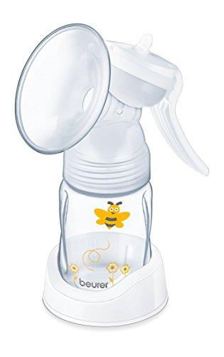 Beurer BY 15 manuelle Milchpumpe für gelegentliches Abpumpen; zur Erleichterung des Familienalltags während der Stillzeit