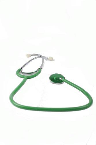 Schwestern-Stethoskop - mit grünem Schlauch - 1 Stück