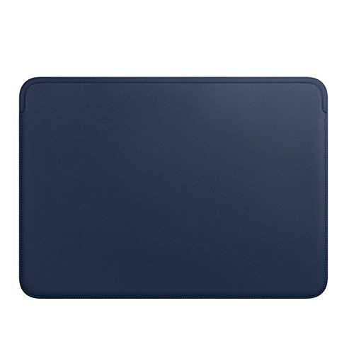 Laptophülle für MacBook Pro 13 15 Zoll Ultra-Slim Laptop Tasche Wasserabweisend PU Leder Case, blau (Blau) - L521-Bpe9Bq5zg-U2y9gD4T_K (Tastatur-handgelenkauflage 14 Zoll)