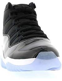 new style 14236 c2abd Retro 11 Chaussure de Basket Space Jam Homme Noir Foncé Concord Blanc