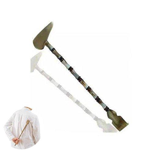 Tickle Massage / Anti-Juckreiz-Werkzeug / Horn Massage / Hammer zurück / ca. 38cm