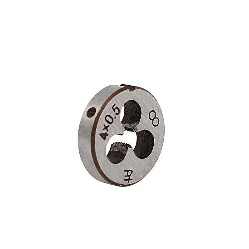 sourcingmap® M4 x 0,5 mm vis métriques 20mm Dia. ext. filetage filetage rond Die Outil coupe