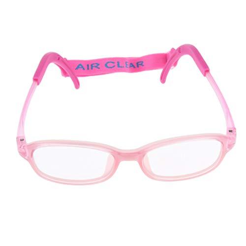 IPOTCH Kinder Brillen Rahmen Brillengestell - Rosa, wie beschrieben