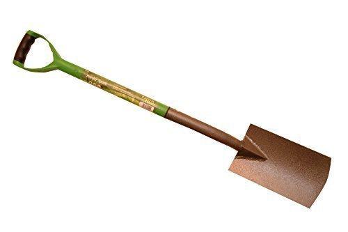 Verde lama vanga con manico in acciaio rivestito in plastica