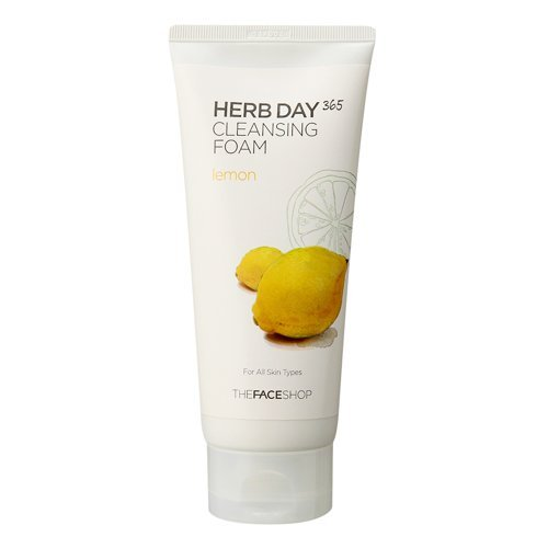the-face-shop-herb-day-365-cleansing-foam-lemon