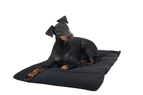Hundekissen , Hundematte von Back on Track schwarz 50 x 68 cm