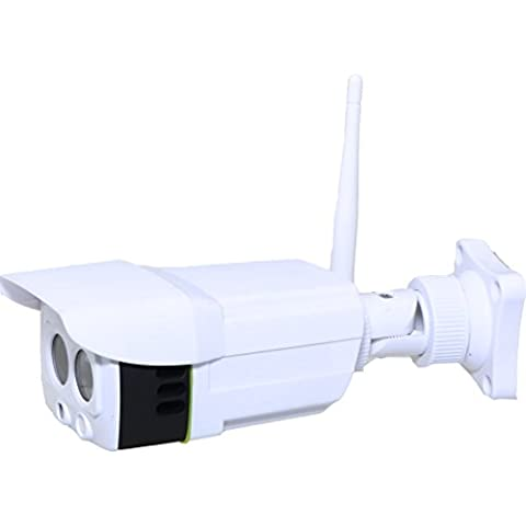 ratingsecu WiFi Camera visione notturna Outdoor Wireless 1080P Full HD Sony CMOS. Sensore Audio Pick Up 32 GB scheda SD