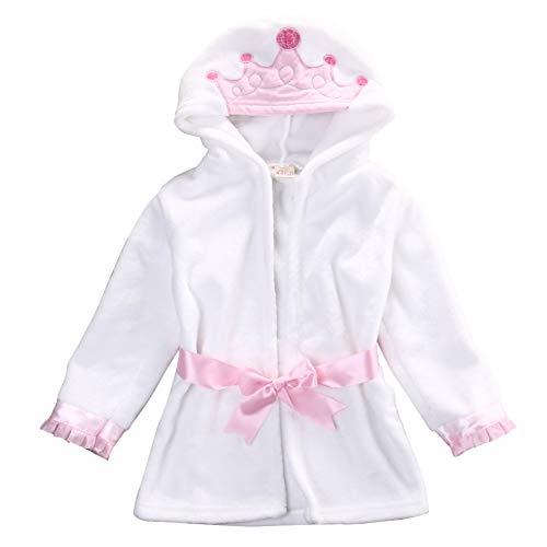 YMXYP warmes nettes Baby-Kleinkind-mit Kapuze Badetuch eingewickeltes Bademantel-Badetuch geworfen - 4t-kapuzen-handtuch