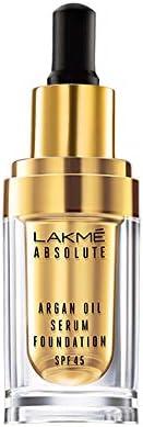 Lakme Absolute Argan Oil Serum Foundation, Cool Walnut, 15 ml