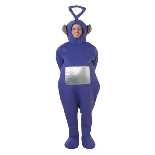 für Erwachsene - Unisex-Einteiler - Rubie's - Eingeitsgröße (Standard), Tinky Winky Kostüm (Tinky Winky Kostüm Kostüm)