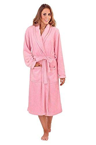 Loungeable Boutique - Robe de chambre - Femme Rose Sombre