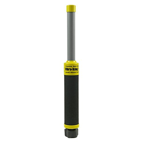 Home Care Wholesale® Vibra-King 730 Unterwasser Metall Detektor mit Vibration und LED Erkennung Indikator - Handheld Wasserdicht Schatz Jagd Pulse Induktion Pinpointer Metall Scanner