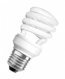 Osram Energiesparlampe Mini Twist 11 W, E27, warmweiß 605924