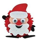 936394 Pompon Bastelspaß Weihnachten sortiert - Preis pro Stück