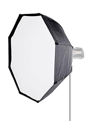 Bresser Studio Photo SS 10octagonal Softbox parapluie, 95cm Noir