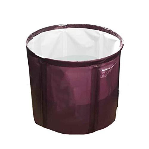 FGF Aufblasbare Badewanne Erwachsenen Doppel Bad Barrel Verdickt Erwachsenen Faltbad Barrel Haushalt Bad Barrel Körper 123 (Size : A)