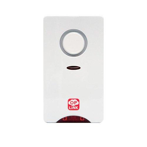 OPLINK OPL-SRN1301. Sirena para interior inalámbrica. Potencia 110 dB, con sonido gradual.