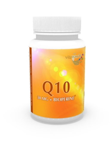 Vita World Coenzima Q10 30mg + Bioperine 60 Capsule Made