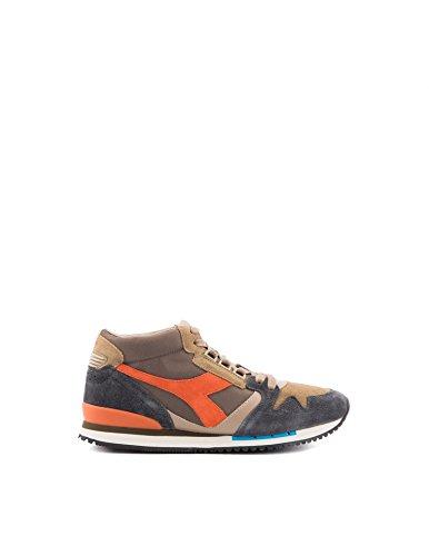 Exodus 5/8 Sw sneakers grigie e arancio - 8