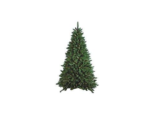 Flora New Tiffany Albero di Natale, PVC, Verde, 180 cm