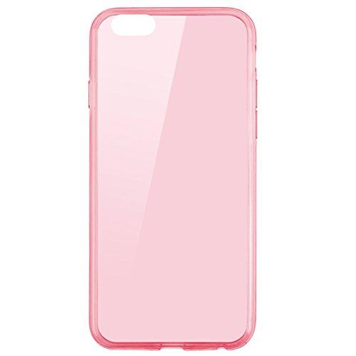 iPhone 6S Hülle, Pasonomi® [Outdoor] [Heavy Duty] [Dual Layer] Ultra-dünne Schutzhülle Case Cover mit Ständer für Apple iPhone 6 (2014) / iPhone 6S (2015) (Kickstand-Schwarz) TPU-Rosa
