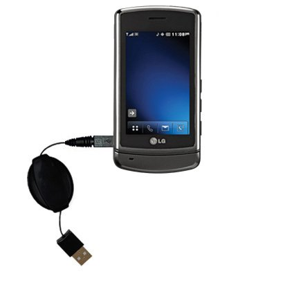 Das ausziehbare Lade über USB für LG VX9700 Erfüllt beide Funktionen