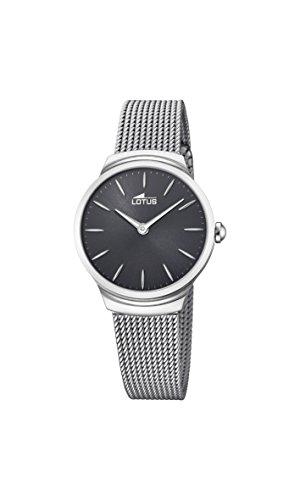 Lotus Watches Reloj Análogo clásico para Mujer de Cuarzo con Correa en Acero Inoxidable 18495/2