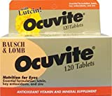 Bausch & Lomb Ocuvite W/Lutein 120 Tabs from BAUSCHLOMB