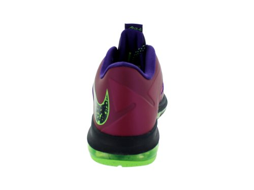 Air Max Lebron X Low 'Ostern' Sneakers (579765-300) Raspberry Red / Blue Print-Court Purple-Flash lime