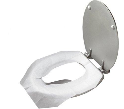 Coolbitz Einweg-Toilettensitz-Abdeckung, Papier, selbstklebend, 250 x 2 Stück -