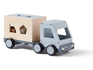 Kids Concept Encaje Formas y Colores Coches y Camiones Aviones Vehículos de Juguete Unisex, Multicolor (1000428)