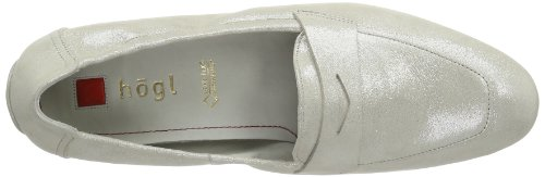 Högl shoe fashion GmbH 7-100715-74000 Damen Slipper Silber (sterling 7400)