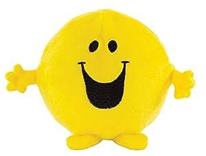 Mr Men Little Miss 1036 Mr Happy Easy Squeezie - Peluche de Espuma viscoelástica, Color Amarillo