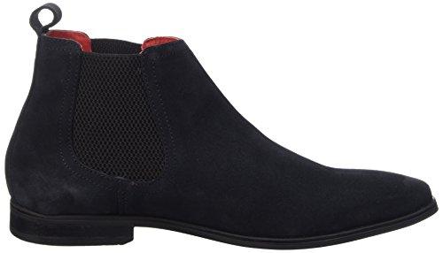 Base London William Herren Chelsea Boots Blau (Navy) 5tK64