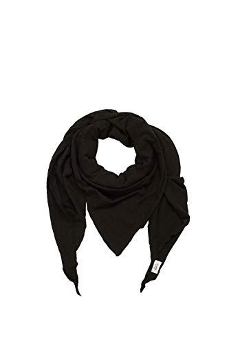 ESPRIT edc by Accessoires Herren 029CA2Q001 Schal, Schwarz (Black 001), One Size (Herstellergröße: 1SIZE)