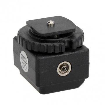 Hohe Qualität C -N2 Transition Sockel Hot Shoe -Konverter-Adapter mit PC Sync Hot-shoe-sync-adapter