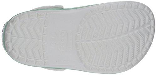 Crocs Band K, A bout rond mixte enfant White/New Mint