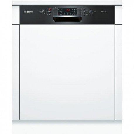 Bosch SMI46AB01E lave-vaisselle Semi intégré 12 places A+ - Lave-vaisselles (Semi intégré, Taille maximum (60 cm), Noir, Boutons, 1,75 m, 1,65 m)