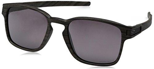 Oakley Sonnenbrille LATCH SQUARED - Schwarz (Woodgrain) , Einheitsgröße